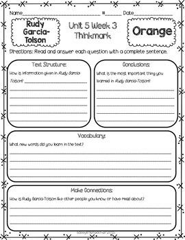 2nd Grade Unit 5 Week 3 Literature Circles