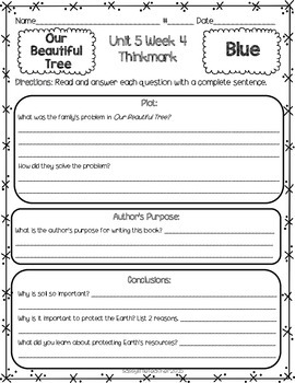 2nd Grade Unit 5 Week 4 Literature Circles