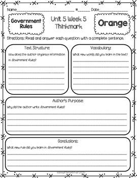 2nd Grade Unit 5 Week 5 Literature Circles