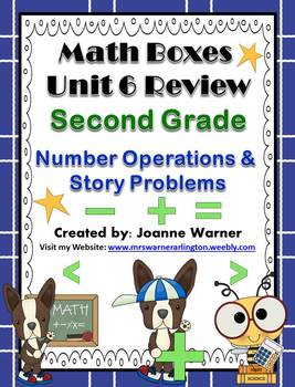 2nd Grade Unit 6 Everyday Math Review ~ Whole Number Operations