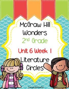 2nd Grade Unit 6 Week 1 Literature Circles