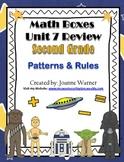 2nd Grade Unit 7 Everyday Math ~ Patterns & Rules
