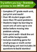 2nd Grade Math Unit & Test: Counting Sets of Coins Problem Solving***ZIP