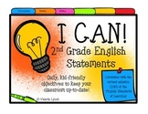 2nd Grade VIRGINIA English I CAN Statements