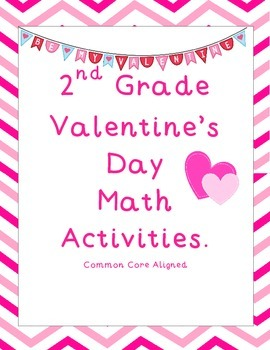 2nd Grade Valentine's Day Math Activities