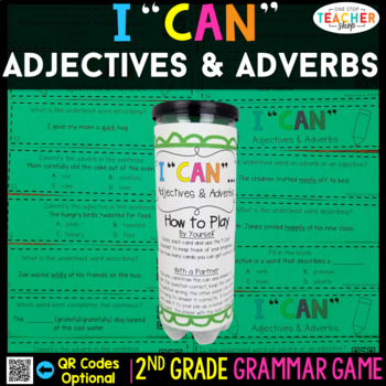 2nd Grade Adjectives and Adverbs Game