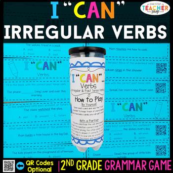 2nd Grade Verbs Game | Verb Tense & Irregular Verbs