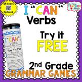 2nd Grade Verbs Game | I CAN Grammar Games