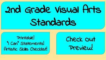 2nd Grade Visual Arts Standards