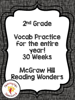 2nd Grade ~ Vocabulary Practice ~ All Year
