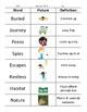 2nd Grade Vocabulary Study Guides (Wonders)