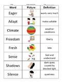 2nd Grade Vocabulary Study Guides (Wonders)