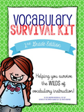 2nd Grade Vocabulary Survival Kit