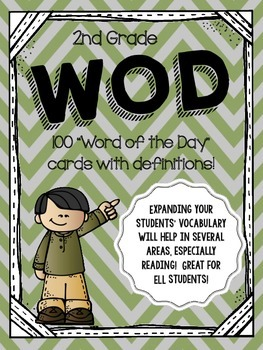 Word of the Day - 2nd Grade Vocabulary