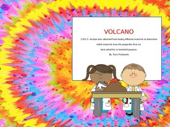 2nd Grade Volcano Science Experiment