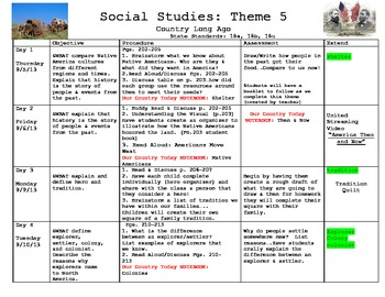 2nd Grade We Live Together (Mcgraw-Hill Social Studies) Theme 5 Unit Bundle
