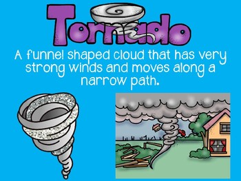 2nd Grade-Weather Powerpoint-Water Cycle,Precipitation,Seasons,Storms, & More