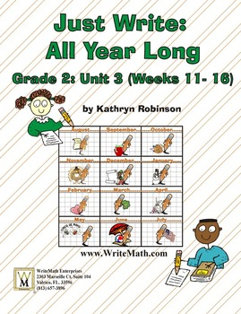 Daily 2nd Grade Writing Lessons, Activities, Grammar - Unit 3 - {CCSS Aligned}