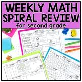 2nd Grade Math Spiral Review: Google Slides & Seesaw | Dis