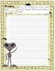 "2nd Grade Weekly Writing Journal Unit 1 Week 2 - ""Explorin"