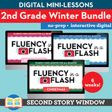 2nd Grade Winter Reading Fluency in a Flash Bundle (6wks)