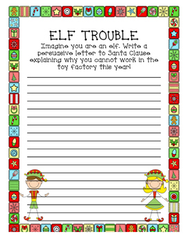 2nd Grade Winter Holiday Christmas Break Homework Classwork Packet