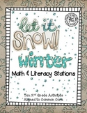 2nd Grade Winter Math & Literacy Stations
