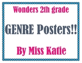 2nd Grade Wonder's Genre Posters