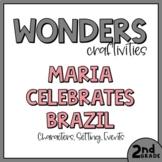 2nd Grade Wonders Craftivity - Unit 1 Week 1 - Maria Celeb
