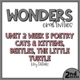 2nd Grade Wonders Craftivity - Unit 2 Week 5 - Poetry