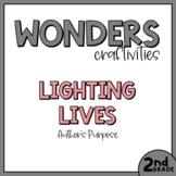 2nd Grade Wonders Craftivity - Unit 3 Week 1 - Lighting Lives