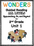 2nd Grade Wonders Guided Reading UNIT 1 BUNDLE Book Companions!