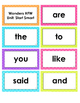2nd Grade Reading Wonders High Frequency Word Cards - Start Smart