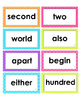 2nd Grade Reading Wonders High Frequency Word Cards - Unit 3