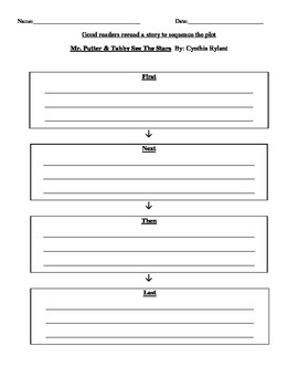 2nd Grade Wonders Lesson Plan- Unit 3 Week 2- Mr. Putter & Tabby See the Stars