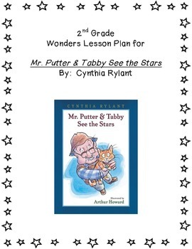 2nd Grade Wonders Lesson Plan- Unit 3 Week 2- Mr. Putter &