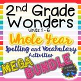 2nd Grade Wonders | Spelling and Vocabulary | MEGA BUNDLE