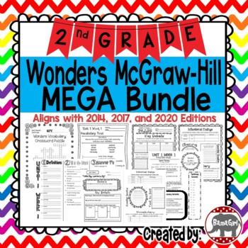 2nd Grade Wonders McGraw Hill Reading *** MEGA Bundle ***