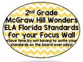 2nd Grade Wonders Reading ALL Units - Focus Wall w/ FL-ELA