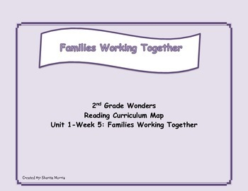 2nd Grade Wonders Reading Curriculum Map Unit 1-Week 5