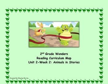 2nd Grade Wonders Reading Curriculum Map Unit 2-Week 2