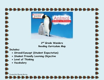 2nd Grade Wonders Reading Curriculum Map Unit 2-Week 4