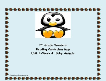 2nd Grade Wonders Reading Curriculum Map Unit 2-Week 4