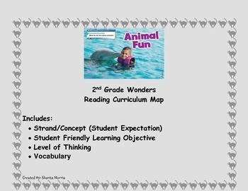 2nd Grade Wonders Reading Curriculum Map Unit 2-Week 5