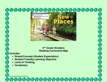 2nd Grade Wonders Reading Curriculum Map Unit 4-Week 1
