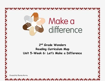 2nd Grade Wonders Reading Curriculum Map Unit 5-Week 6