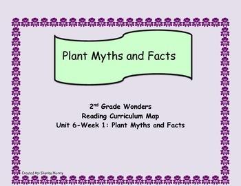 2nd Grade Wonders Reading Curriculum Map Unit 6-Week 1