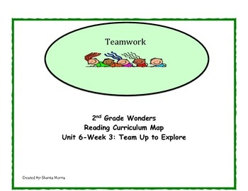 2nd Grade Wonders Reading Curriculum Map Unit 6-Week 3