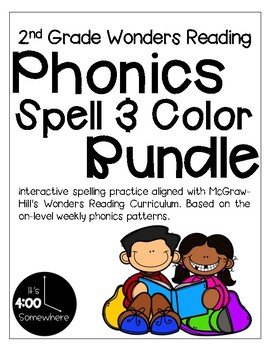 2nd Grade Wonders Reading Phonics and Spelling Practice