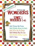 2nd Grade Wonders (2014) Reading  Unit 1 Bundle